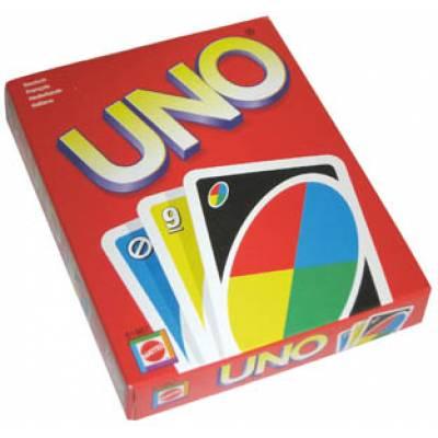 Настільна гра, карти УНО UNO з пластику