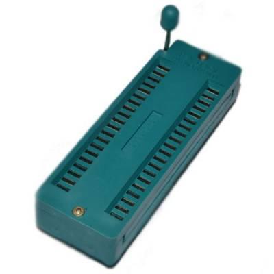 ZIF-панель 40 pin с нулевым усилием, DIP корпус, A