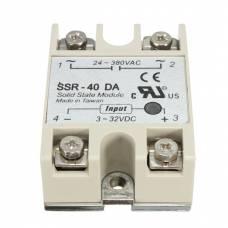 Однофазное твердотельное реле SSR-40DA 40А DC-AC