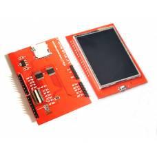 LCD TFT 2.4 дисплей 320x240, тачскрин, microSD, Arduino