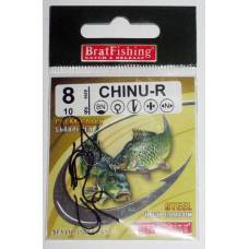 Крючки BratFishing CHINU - R, №8