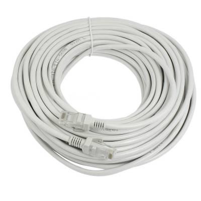Патч-корд RJ45 20м, сетевой кабель UTP Cat.5E Lan