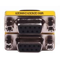 Перехідник DB9 (COM) мама-мама 9 pin RS232