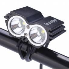 Подвійний ліхтар фара для велосипеда 2x CREE XM-L U2