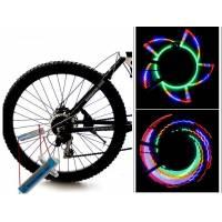 Світлодіодне підсвічування колеса велосипеда, 32 візерунка