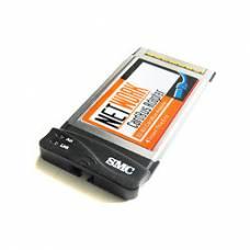 PCMCIA Ethernet RJ 45 сетевая карта
