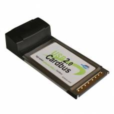 PCMCIA адаптер на 4 USB 2.0 порта, хаб