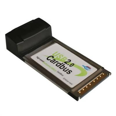 PCMCIA адаптер на 4 USB 2.0 порти, хаб