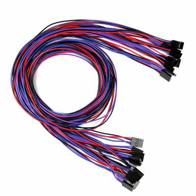 14 кабелей 2/3/4pin мама-мама 70 см для 3D-принтера