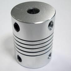 Гибкая муфта 5 х 5 мм шагового двигателя 3D-принтера