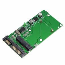 Перехідник mSATA SSD - SATA 2.5 з Mini USB роз'ємом