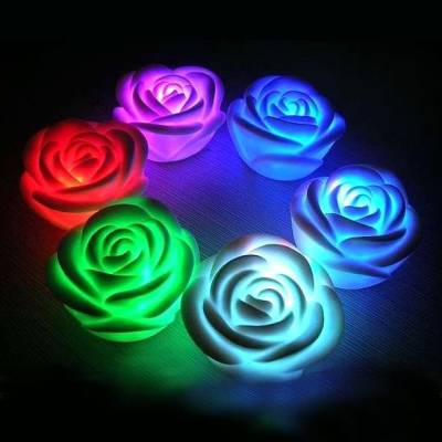 Ночной романтический LED-светильник роза ночник