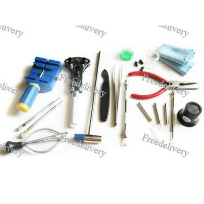 Набор часовщика, 17 инструментов, ремонт часов