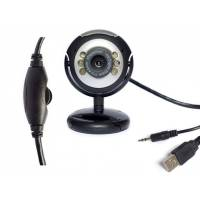 Веб-камера 1.3МП, микрофон, подсветка