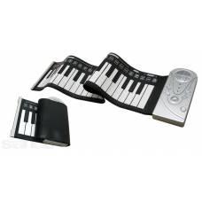 Гнучка MIDI клавіатура, синтезатор, піаніно, 49 кл