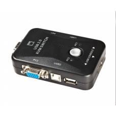 2-портовый KVM-свич, переключатель USB