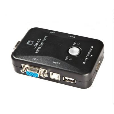 2-портовий KVM-свіч, перемикач USB