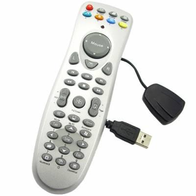 Универсальный пульт ДУ для ПК, USB, серебристый