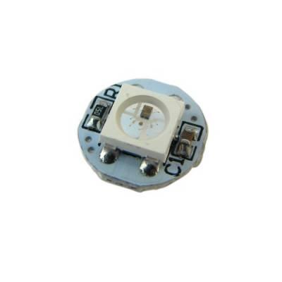 Управляемый RGB светодиод WS2812B на плате