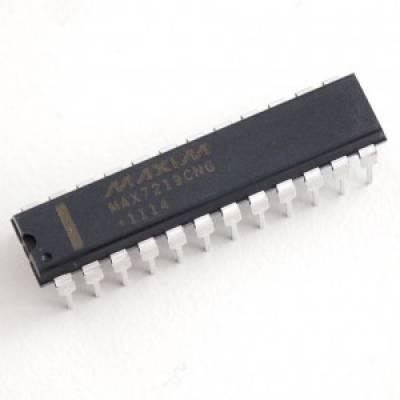 Чіп MAX7219CNG MAX7219, драйвер індикатора
