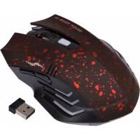 Бездротова ігрова миша мишка Gamer, червона