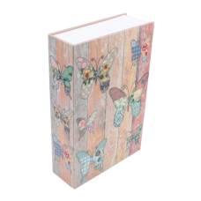 Книга, книжка-сейф на ключі, метал, 240 х 155 х 55 мм