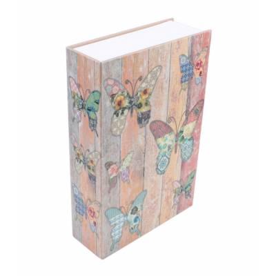 Книга, книжка-сейф на ключе, металл, 240 х 155 х 55 мм