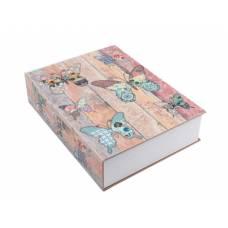 Книга, книжка-сейф на ключі, метал, 180 х 115 х 55 мм