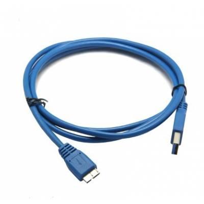 USB 3.0 Micro-B дата-кабель, 1,5 м, прочный, синий