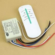 2-канальний бездротовий вимикач освітлення 220 В