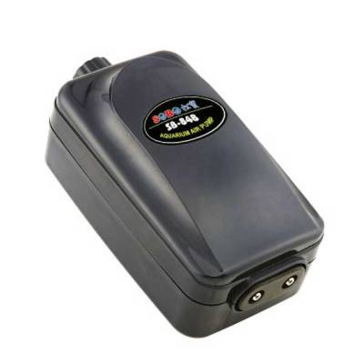Компрессор двухканальный с регулятором Sobo SB-848 2*3,5 л/мин.