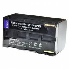 Батарея Canon BP-927 BP-930 ES8000 MV200 V500 XM2