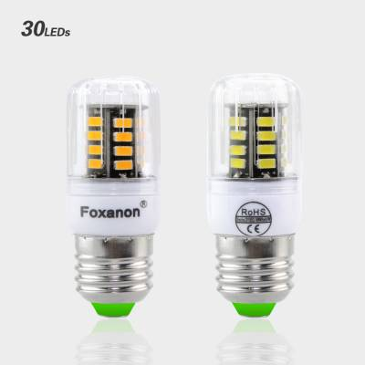 Светодиодная лампа LED E27 smd 5733, Foxacon 30 диода 3 Ватт