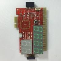Универсальная POST карта для диагностики ПК и ноутбуков KQCPET6-H v.6, PCI, PCI-E, LPC