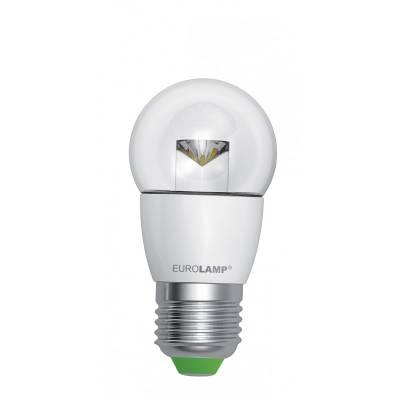 EUROLAMP LED Лампа ЭКО серия D G45 прозрачная 5W E27 3000K