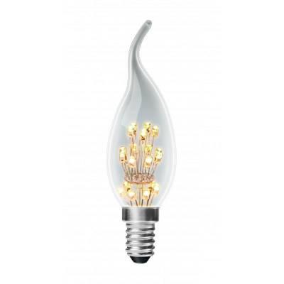 EUROLAMP LED cвеча ArtDeco 1W E14 2700K