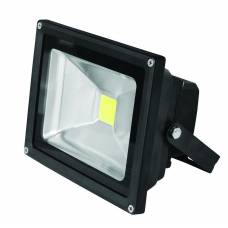EUROELECTRIC LED Прожектор COB чёрный 20W 6500K classic