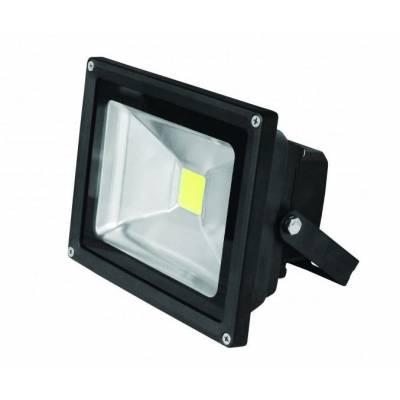 EUROELECTRIC LED Прожектор COB чёрный 50W 6500K classic