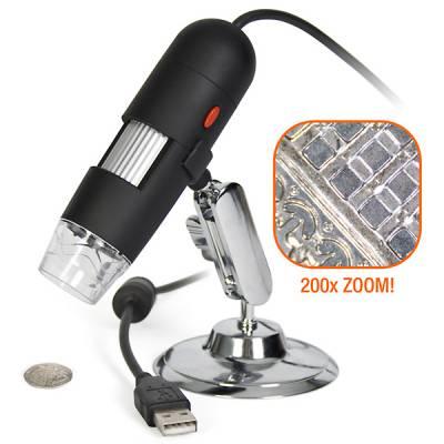 USB Микроскоп 200x MicroView