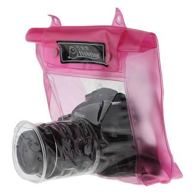 Подводный чехол для зеркальных камер, розовый