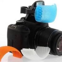 3-колір розсіювач вбудованих спалахів зерк. камер