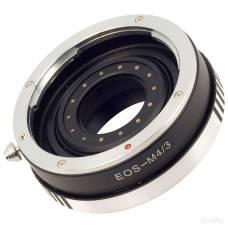 Адаптер перехідник Canon EOS - Micro 4/3, апертура Ulata