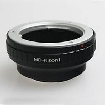 Адаптер переходник Minolta MD - Nikon 1 J1, кольцо Ulata