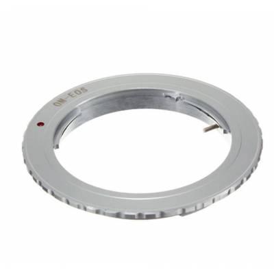 Адаптер переходник Olympus OM - Canon EOS, кольцо Ulata