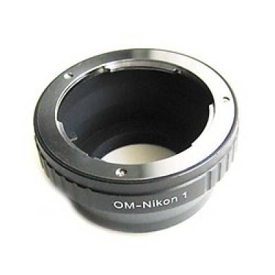 Адаптер переходник Olympus OM - Nikon 1 J1, кольцо Ulata