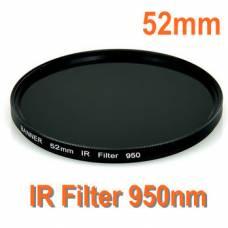Інфрачервоний ІЧ IR фільтр 52мм 950нм
