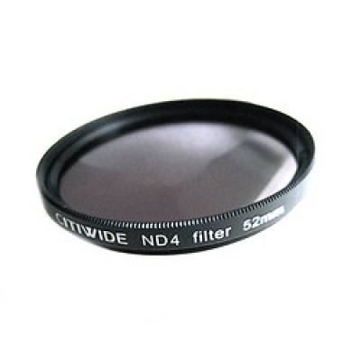 Светофильтр нейтрально-серый ND4 52мм CITIWIDE