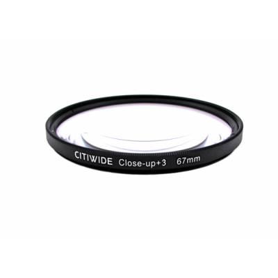 Макролинза 67мм +3 Close-up макро линза CITIWIDE
