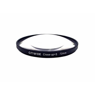 Макролинза 72мм +3 Close-up макро линза CITIWIDE