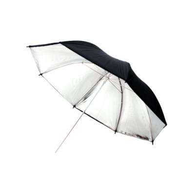 """Фото зонт 101см серебристый, 40"""" студийный"""